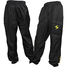 Scorpion EXO Barrier Pants - Jardine GP-1 Stainless Steel Slip-On Exhaust - Black