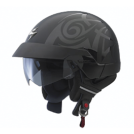 Scorpion EXO-100 Helmet - Tribal - Scorpion EXO-100 Half Helmet