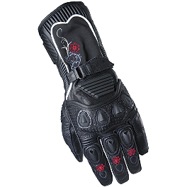 Scorpion Women's Fiore Gloves - Long - MotoStance M-6 Rear Stand