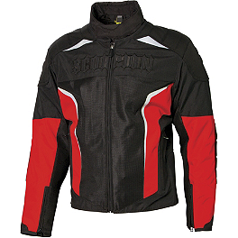 Scorpion Hat Trick II Jacket - Continental Trail Attack Dual Sport Radial Front Tire - 120/70ZR17
