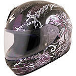 Scorpion EXO-R410 Helmet - Orchid - Womens Scorpion Full Face Motorcycle Helmets