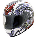 Scorpion EXO-R410 Helmet - Slinger - Womens Full Face Motorcycle Helmets