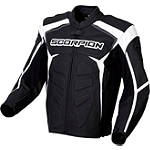 Scorpion SJ2 Leather Jacket - AXO Textile Motorcycle Riding Jackets