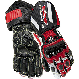 Scorpion SG3 Gloves - AXO KK4-R Leather Gloves