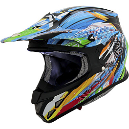 Scorpion VX-R70 Fragment Helmet - AGV MTX Helmet - Point