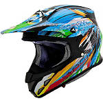 Scorpion VX-R70 Fragment Helmet - Scorpion ATV Helmets and Accessories