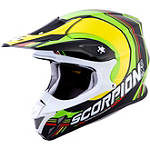 Scorpion VX-R70 Spot Helmet - Scorpion Dirt Bike Helmets and Accessories