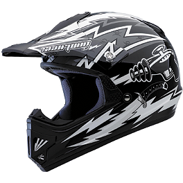 Scorpion Youth VX-9 Ray Gun Helmet - 2012 Answer Youth Nova Syncron Helmet