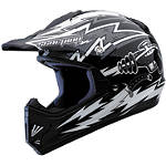 Scorpion Youth VX-9 Ray Gun Helmet - Scorpion ATV Helmets and Accessories