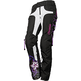 Scorpion Women's Savannah II Mesh Pants - 2013 Teknic Women's Venom Leather Pants