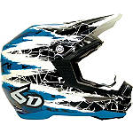 6D Helmets ATR-1 Helmet - Chaos - 6D-HELMETS-PROTECTION Dirt Bike neck-braces-and-support
