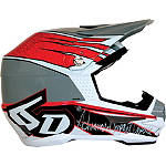 6D Helmets ATR-1 Helmet - Intruder - 6D-HELMETS-PROTECTION Dirt Bike kidney-belts