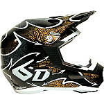 6D Helmets ATR-1 Helmet - Maze - 6D-HELMETS-PROTECTION Dirt Bike kidney-belts