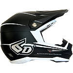 6D Helmets ATR-1 Helmet - Stealth - Dirt Bike & Motocross Protection