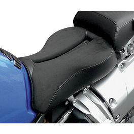 Saddlemen Adventure Track Seat - 2008 Kawasaki KLR650 Sargent World Sport Performance Seat With Black Welt