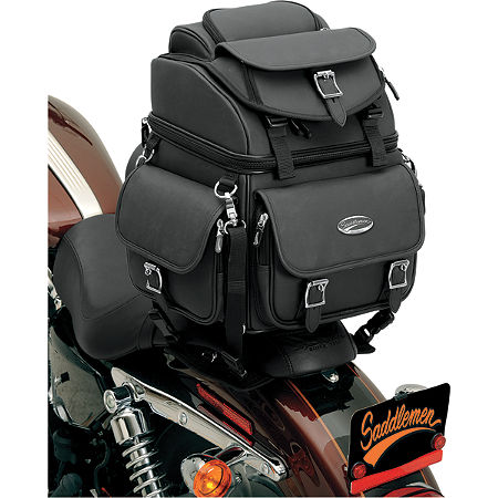 Saddlemen BR1800EX Sissy Bar Bag Without Studs - Main