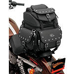 Saddlemen BR1800EXS Sissy Bar Bag With Studs - Cruiser Sissy Bar Bags