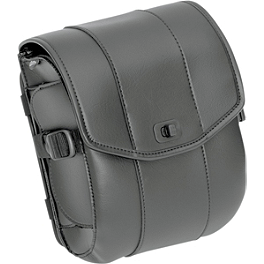 Saddlemen Cruis'N Deluxe Sissy Bar Bag - 2008 Honda VTX1300R Saddlemen Desperado Quick Release Saddlebags