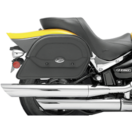 Saddlemen Cruis'N Slant Saddlebags - Custom Fit - 1997 Suzuki Savage 650 - LS650P Saddlemen Saddle Skins Seat Cover - Black