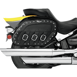 Saddlemen Desperado Quick Release Saddlebags - 2008 Honda VTX1300R Saddlemen Teardrop Desperado Saddlebags