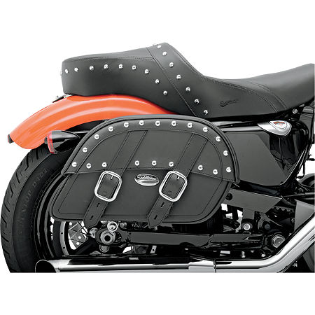 Saddlemen Desperado Slant Saddlebags - Custom Fit - Main