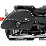 Saddlemen Teardrop Desperado Saddlebags - Saddlemen Cruiser Saddle Bags