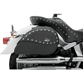 Saddlemen Teardrop Desperado Universal Saddlebags - 1982 Honda Magna 750 - VF750C Saddlemen Saddle Skins Seat Cover - Black