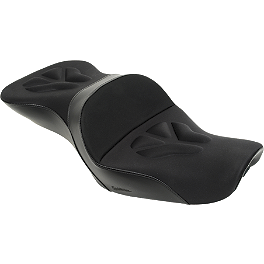 Saddlemen Explorer G-Tec Seat - 2008 Honda VTX1300C Saddlemen Saddle Skins Seat Cover - Black