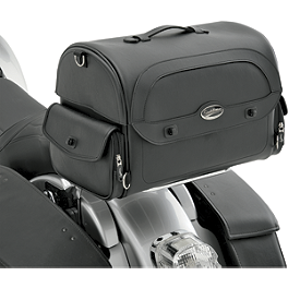 Saddlemen Cruis'N Express Tail Bag - 2005 Honda VTX1300C Saddlemen Saddle Skins Seat Cover - Black