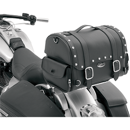 Saddlemen Desperado Express Tail Bag - 2003 Honda Shadow VLX Deluxe - VT600CD Saddlemen Saddle Skins Seat Cover - Black