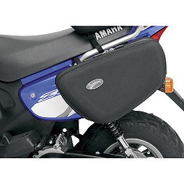 Saddlemen Expandable Sport Saddlebags - 1981 Yamaha XJ650 - Maxim Saddlemen Saddle Skins Seat Cover - Black