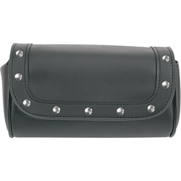 Saddlemen Highwayman Tool Pouch - Rivet - 1982 Yamaha Virago 750 - XV750 Saddlemen Saddle Skins Seat Cover - Black