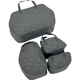Saddlemen Saddlebag Packing Cube Liner Set - Saddlemen Trunk Organizer