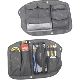 Saddlemen Saddlebag Organizer - Kuryakyn Lightning Valve Covers