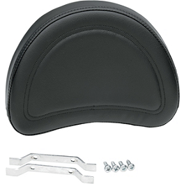 "Saddlemen Contoured Sissy Bar Pad - 8"" X 10"" - Saddlemen Drifter Saddlebags With Shock Cutaway"