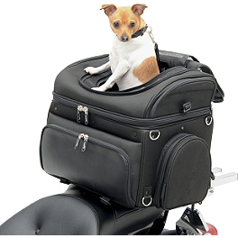 Saddlemen Pet Voyager - Saddlemen Midnight Express Desperado Slant Saddlebags
