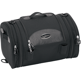 Saddlemen R1300LXE Deluxe Roll Bag - Saddlemen Quick-Detach Strap Kit