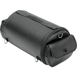 Saddlemen EXR1000 Drifter Roll Bag - 1995 Kawasaki Vulcan 500 - EN500A Saddlemen Quick Disconnect Kit For Saddlebags