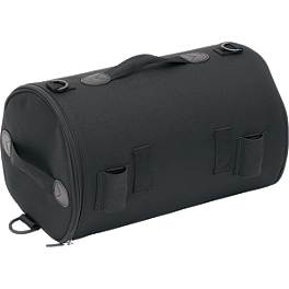 Saddlemen R850 Roll Bag - Kuryakyn Deluxe Convertible Luggage Rack Bag