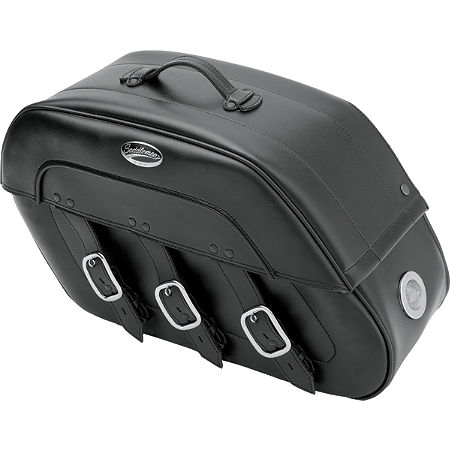 Saddlemen Drifter Quick Release Saddlebags With LED Marker Light - Main