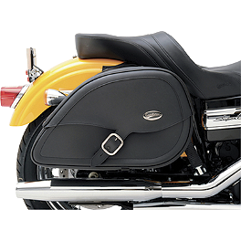 Saddlemen Teardrop Drifter Saddlebags - 2008 Honda VTX1300R Saddlemen Teardrop Desperado Saddlebags