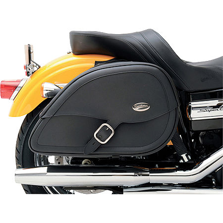 Saddlemen Teardrop Drifter Saddlebags With LED Marker Light - Main