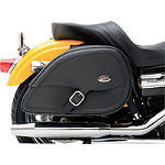 Saddlemen Teardrop Drifter Saddlebags With LED Marker Light -  Cruiser Saddle Bags