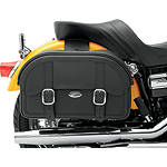 Saddlemen Drifter Straight Saddlebags - Throw Over - DZUS Cruiser Luggage and Racks