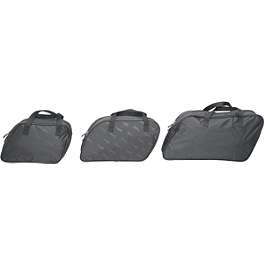 Saddlemen Saddlebag Liner - Saddlemen Drifter Quick Release Saddlebags With LED Marker Light