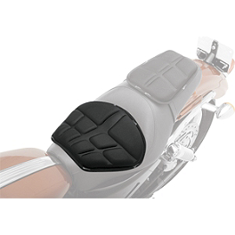 Saddlemen Saddlegel Seat Pad - Molded - Saddlemen Desperado Saddlebags With Shock Cutaway