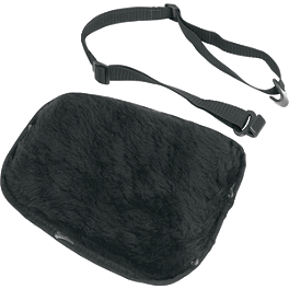 Saddlemen Saddlegel Seat Pad - Sheepskin - Saddlemen Drifter Quick Release Saddlebags With LED Marker Light
