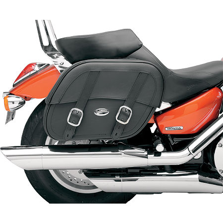 Saddlemen Drifter Saddlebags With Shock Cutaway - Main