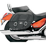 Saddlemen Drifter Saddlebags With Shock Cutaway - Saddlemen Cruiser Saddle Bags