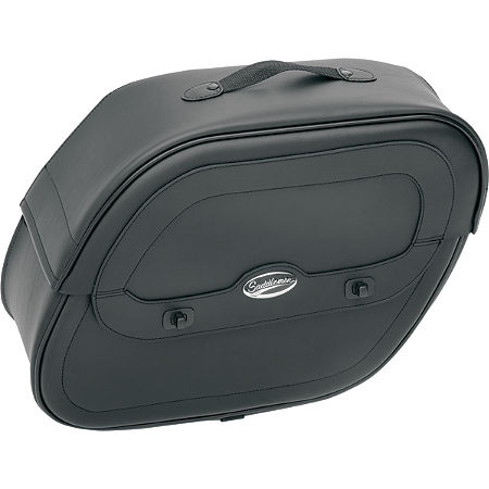 Saddlemen Cruis'N Slant Saddlebags With Shock Cutaway - Main